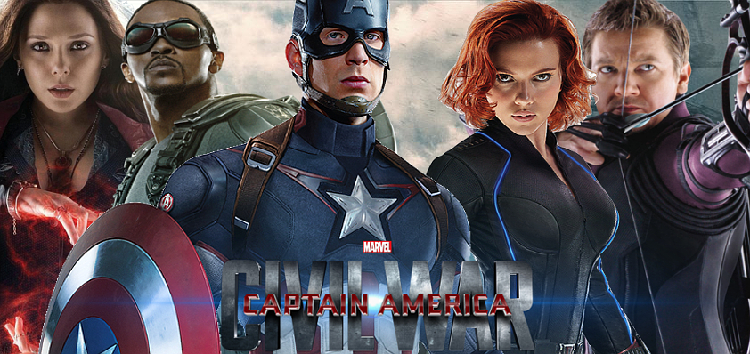 Captain America: Civil War Banner 2 by PaulRom