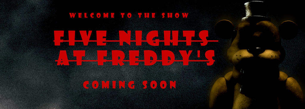 Five Nights at Freddy's Movie Banner by PaulRom