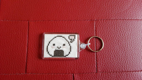 Onigiri Keychain by Rexcalius