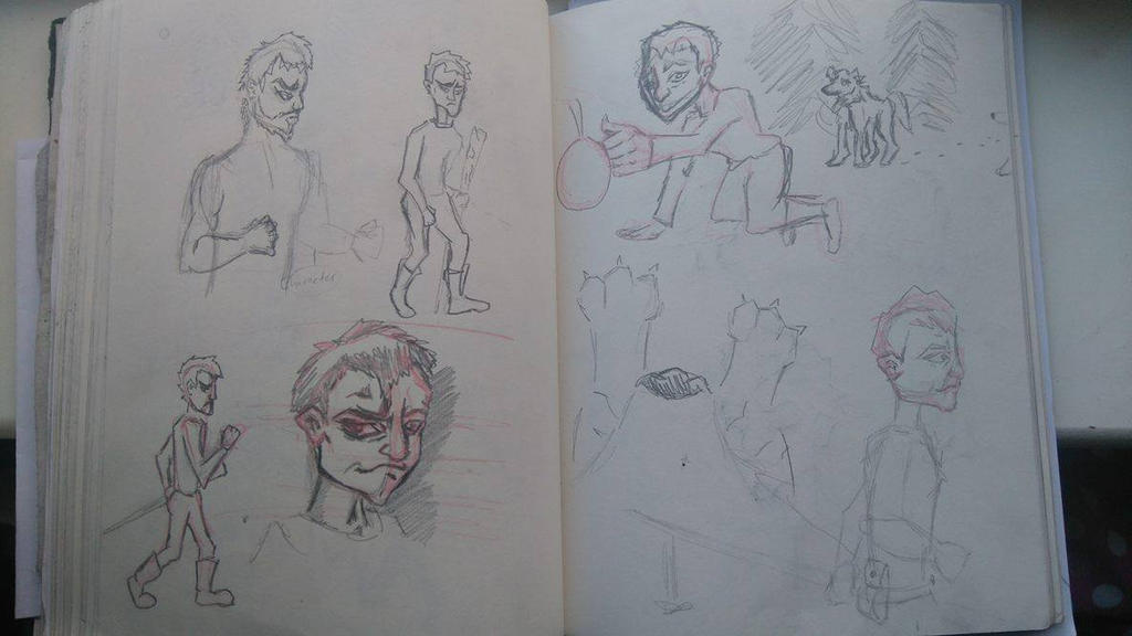 Character Design Journal : Art journal character design by rory on deviantart