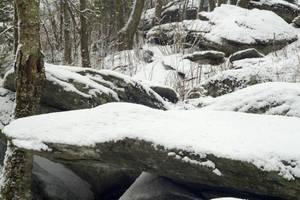 Snow Stones Stock by milesmoody