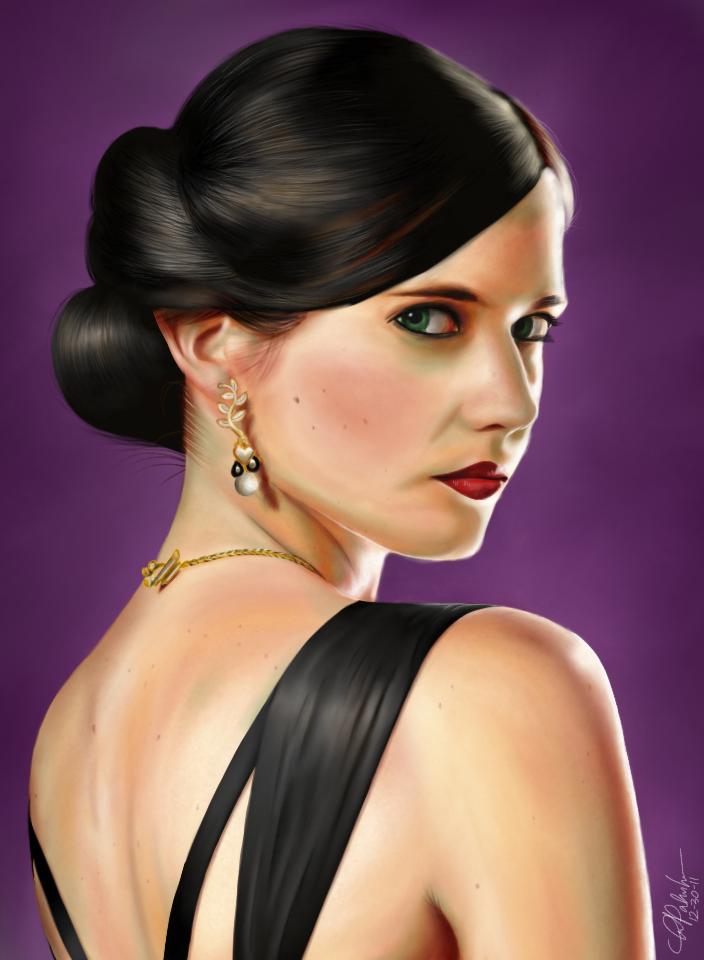iPad art: Vesper Lynd by ShinkenDon
