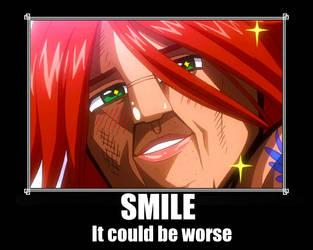 Ichiya smile meme by LunaReddonaito