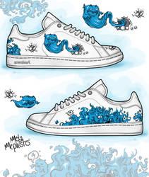 Blue Mischief by MetaMephisto