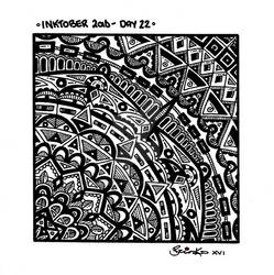 Inktober 2016 -  Day 22