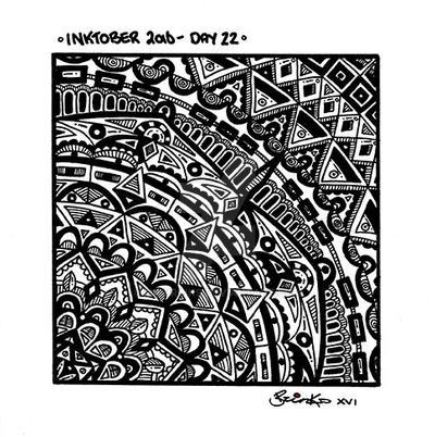 Inktober 2016 -  Day 22 by Mr-Brinks