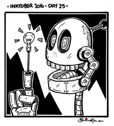 Inktober 2016 - Day 25 by Mr-Brinks