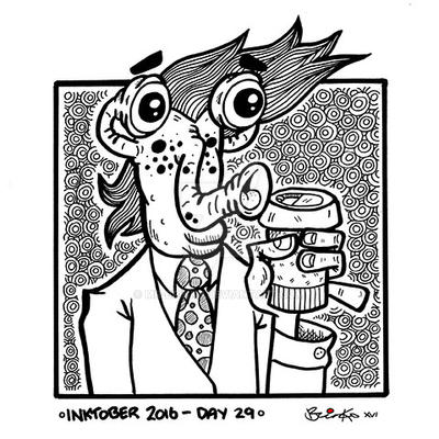 Inktober 2016 - Day 29 by Mr-Brinks
