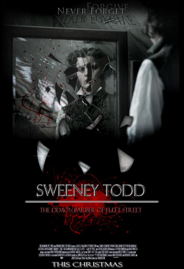 Sweeney Todd Movie Poster by jonnyboy236129