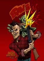 zombie attack by mastaczajnik