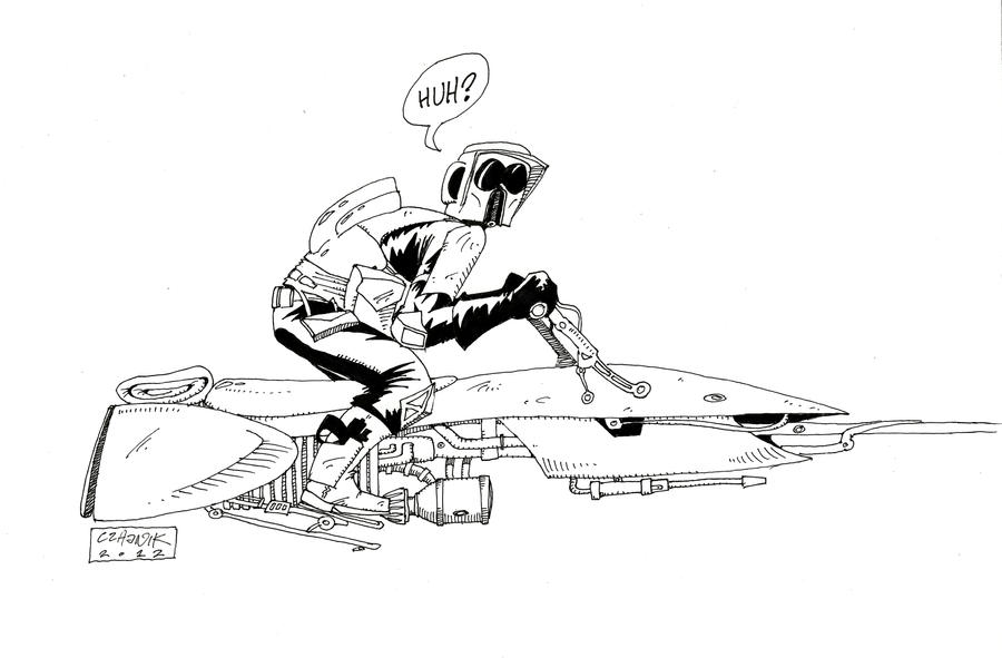 Scout Trooper Coloring Pages General