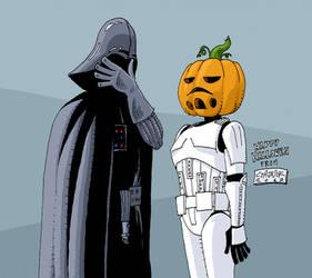 halloween vader by mastaczajnik