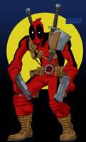Deadpool by mastaczajnik