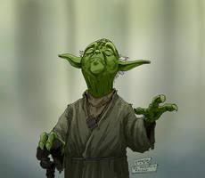 Yoda by mastaczajnik