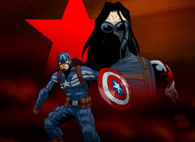 Captain America: The Winter Soldier by mastaczajnik