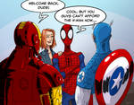 welcome back, Spidey!