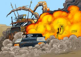 Mad Max by mastaczajnik