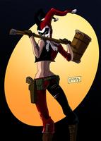Harley Quinn by mastaczajnik