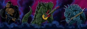 Monsters of Rock! by mastaczajnik