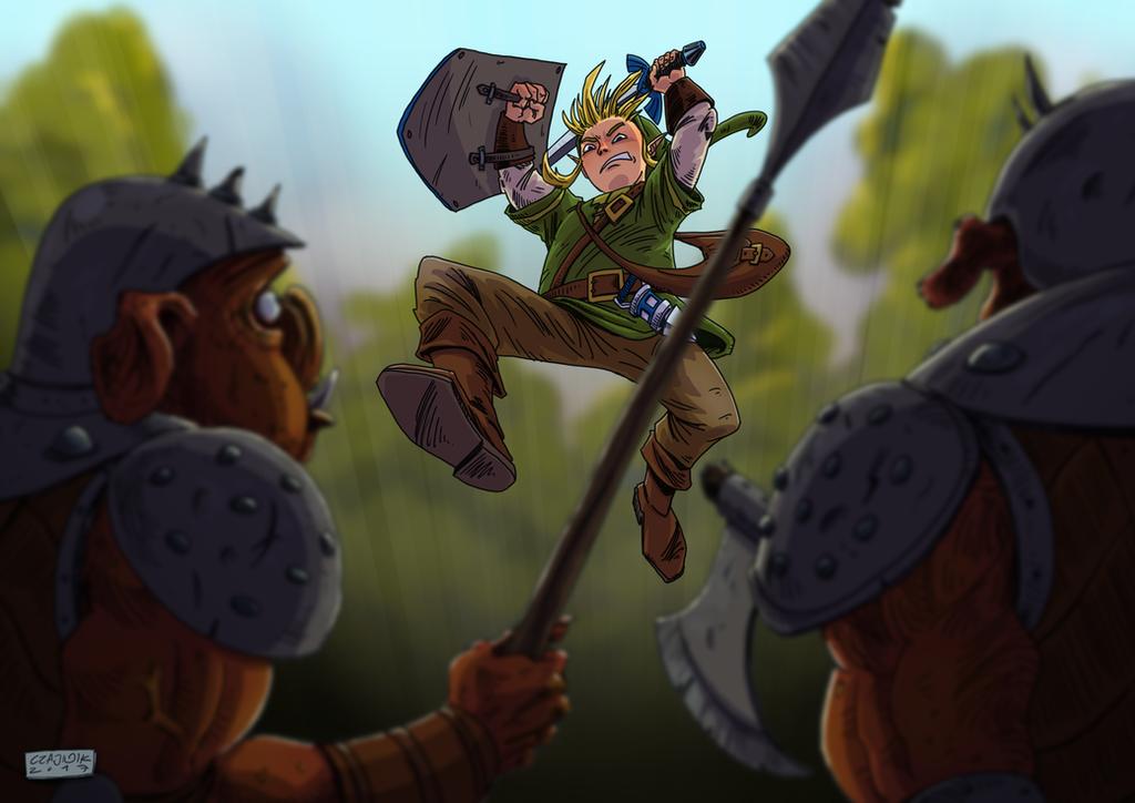 Legend of Zelda by mastaczajnik
