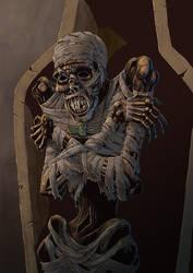 the mummy by mastaczajnik