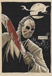 Jason sketch by mastaczajnik