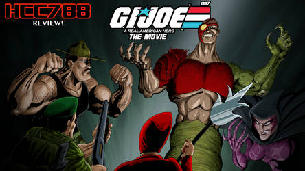 1987 G.I.JOE the movie revoev cover for HoodedCobr