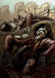 Smell of death by mastaczajnik