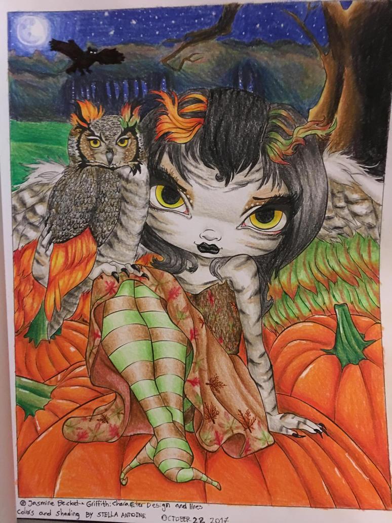 Owlyn in autumn (Recolored by stellaantoine) by stellaantoine