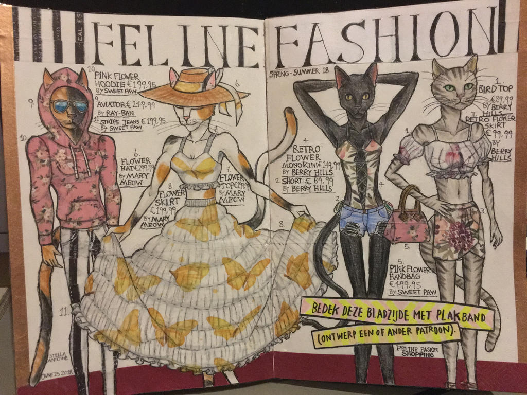 Feline Fashion magazine