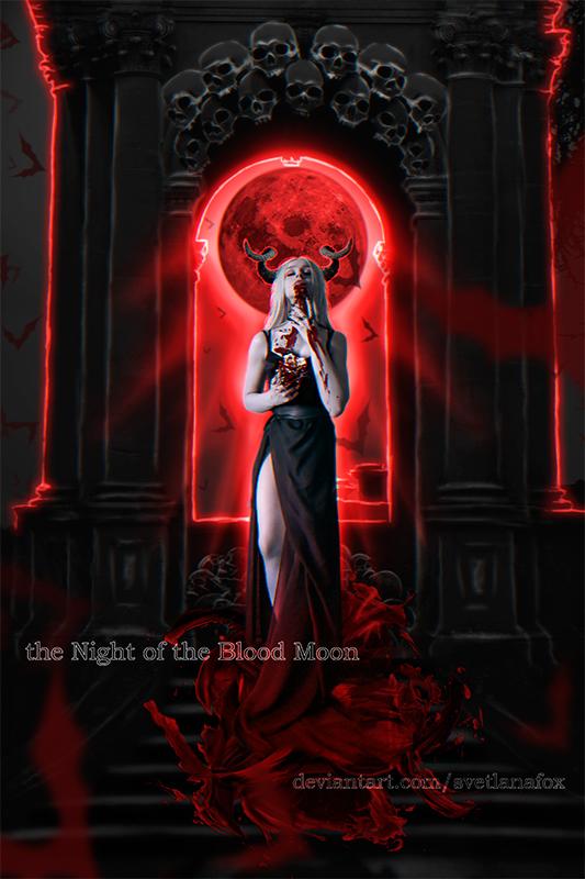 The Night of the Blood Moon by SvetlanaFox