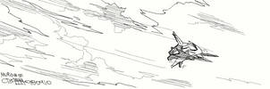 080910: Muro 01 - Axelay by crybringer