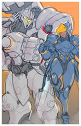 OVER armors WIP