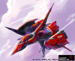 231: TAKE FLIGHT BRAVE AXELAY by crybringer