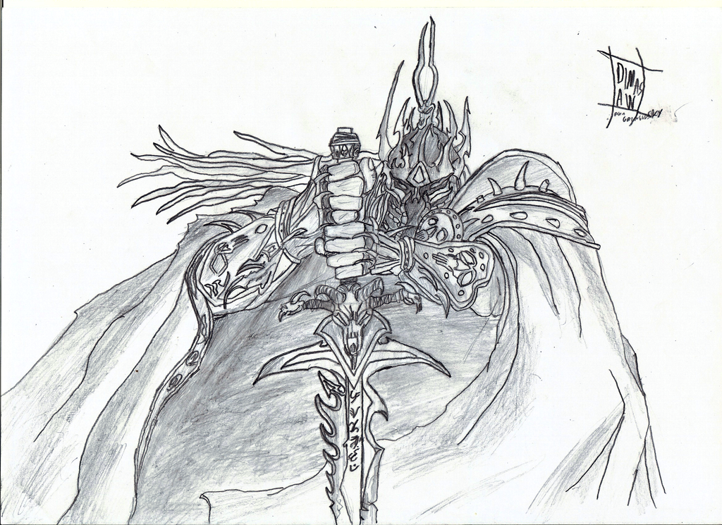Lich King By Gringgosky On DeviantArt
