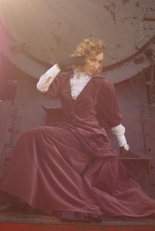 Steam Memories: Glamour by rehael