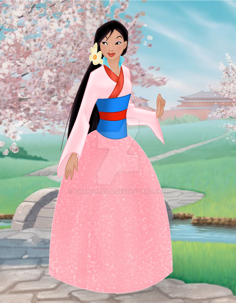 Disney princess mulan doll by ohanamaila on deviantart - Princesse mulan ...