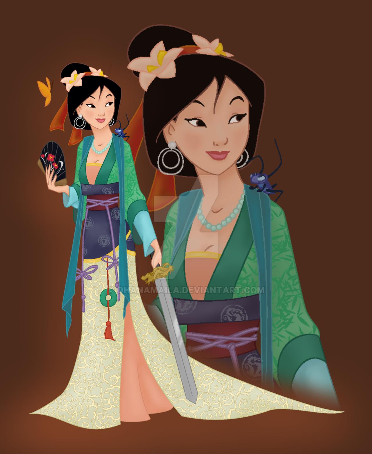 Disney princess mulan by ohanamaila on deviantart - Princesse mulan ...
