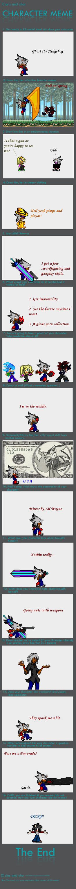 Chara Meme by GhosttheHedgehog12