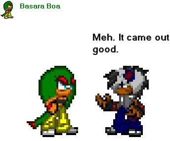 Basara Boa by GhosttheHedgehog12