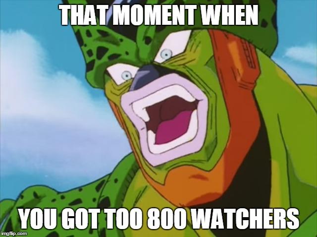 800 Watchers Meme by GhosttheHedgehog12