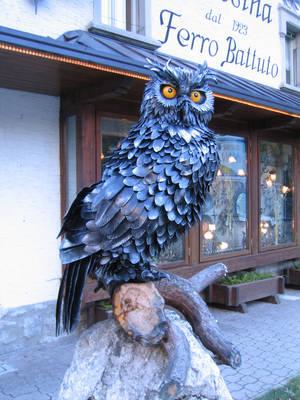 Iron Owl by bhaisidhe