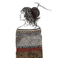 in the style of Klimt by RADIVILOVSKAY