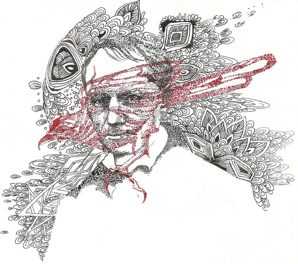 Charles Baudelaire by RADIVILOVSKAY