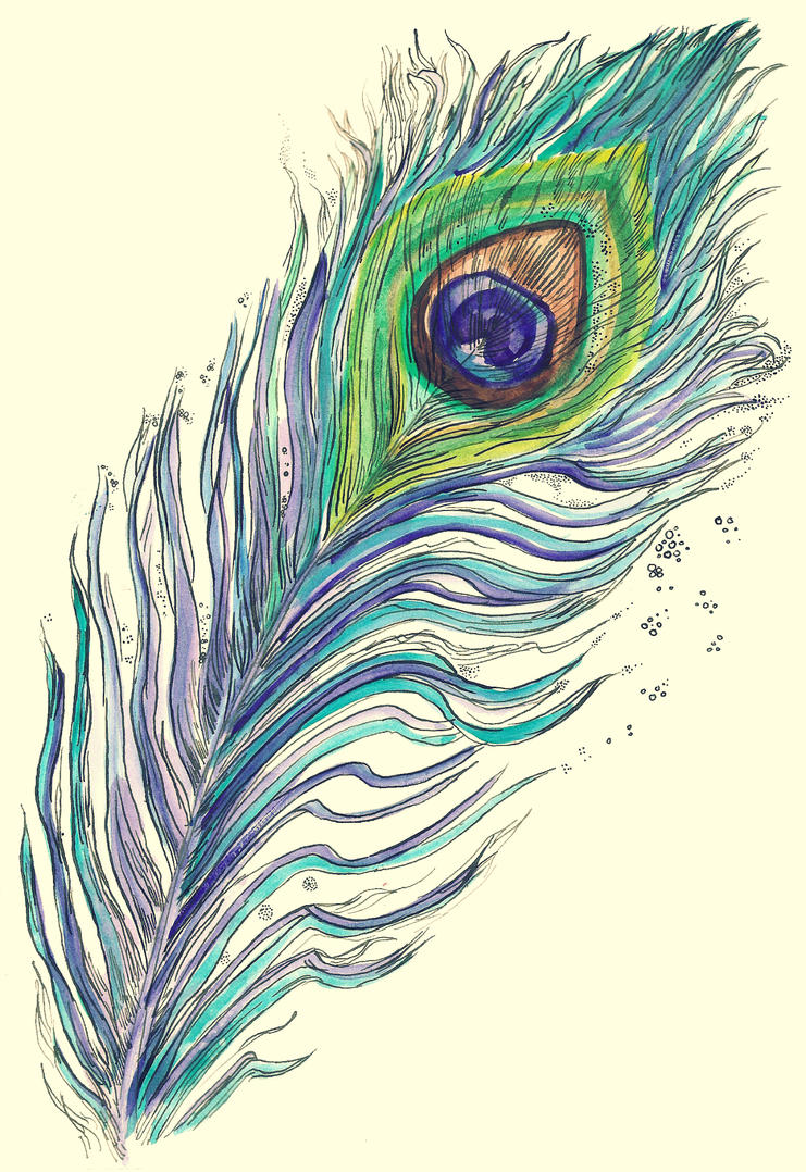 piece of a peacock's soul by RADIVILOVSKAY