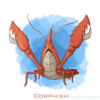 Corphish by DiegoAGM