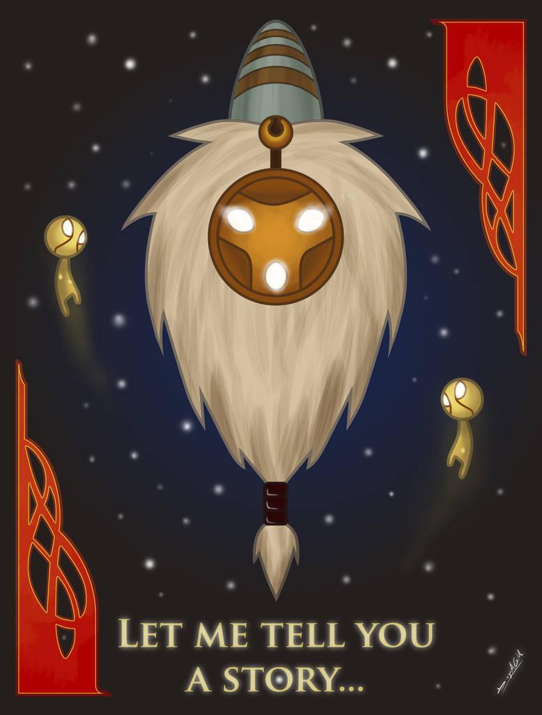 Bard, the Wandering Caretaker by DiegoAGM