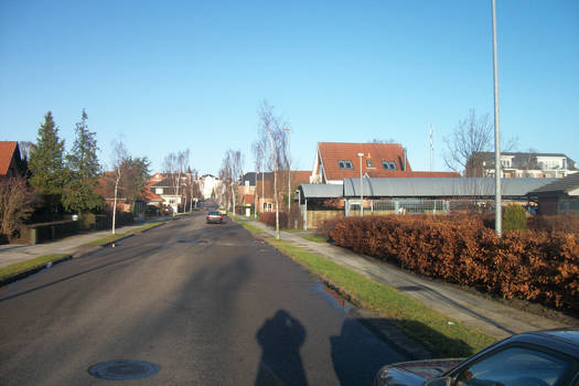 Street buildings Neighborhood