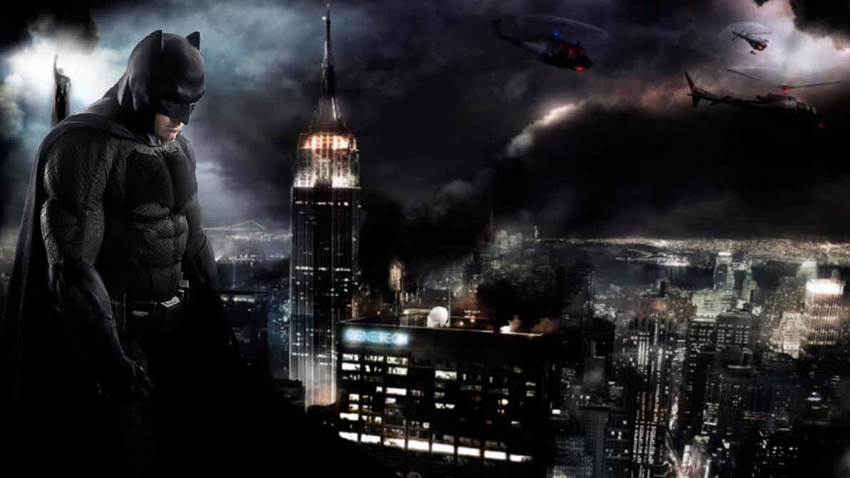 Batman v Superman City by djpyro229