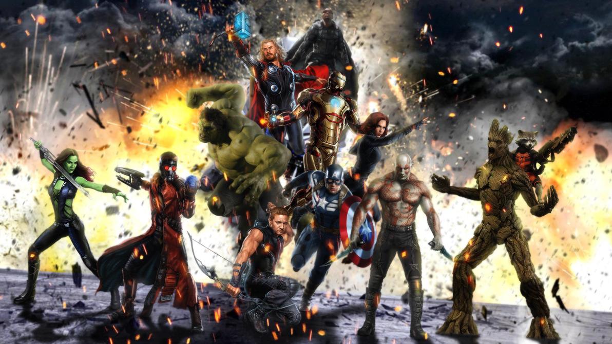 Guardian Avengers by djpyro229